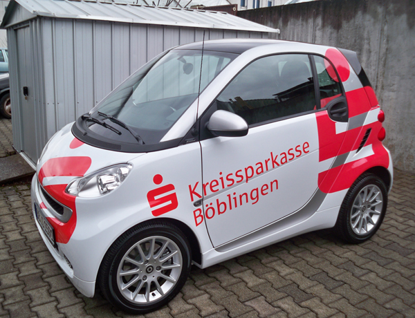 Fahrzeugbeschriftung für Firmen